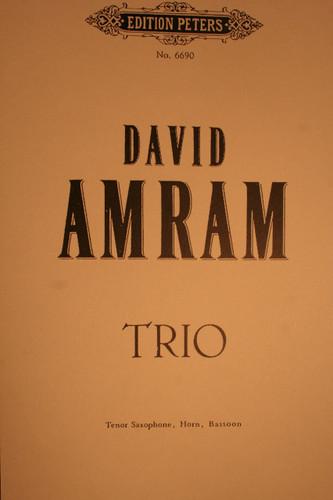 Amram, David - Trio