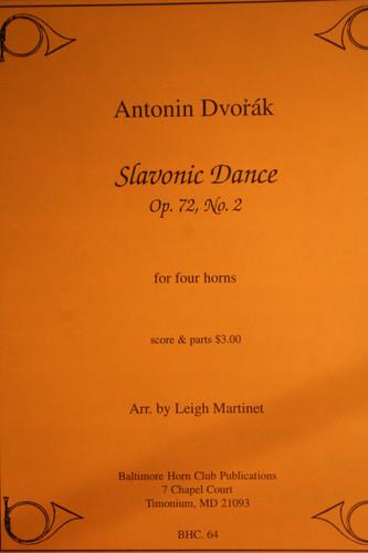 Dvorak, Anton - Slavonic Dance, Op. 72, No. 2