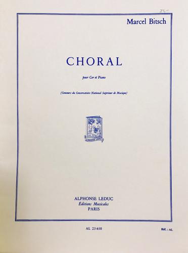 Bitsch, Marcel - Choral (image 1)