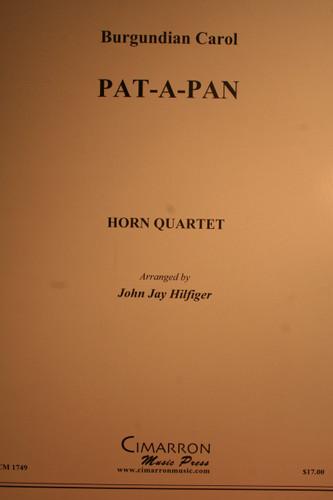Burgundian Carol - Pat-A-Pan (Horn Quartet)