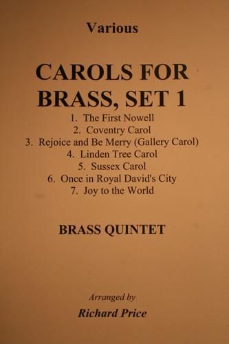 Traditional Christmas - Carols For Brass, Set 1