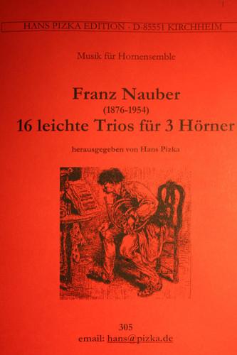 Nauber, Franz - 16 Easy Trios