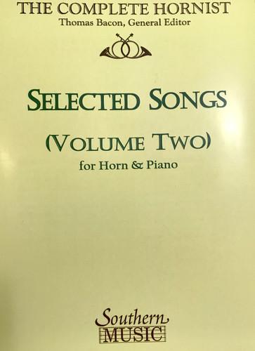 Bacon, Thomas - Selected Songs, Volume 2
