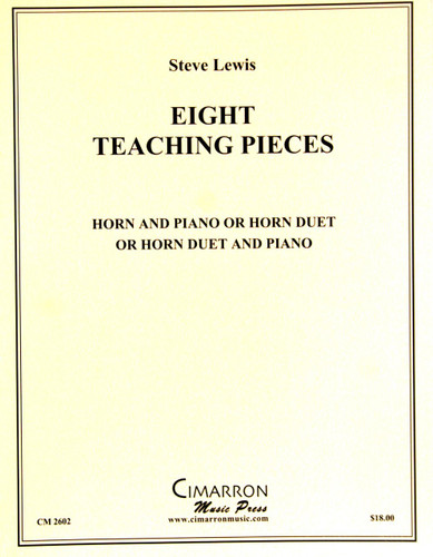 Lewis, Steve - Eight Teaching Pieces (image 1)