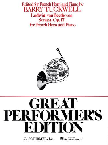 Beethoven, Ludwig - Sonata, Op. 17 (Great Performers Ed.)