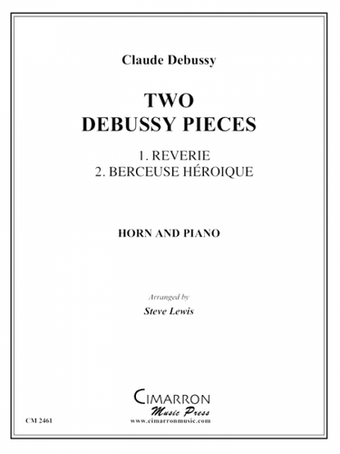Debussy, Claude - Two Debussy Pieces (image 1)