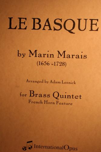 Marais, Marin - Le Basque BQ