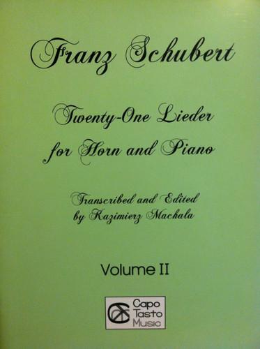 Schubert, Franz - 21 Lieder, Volume 2