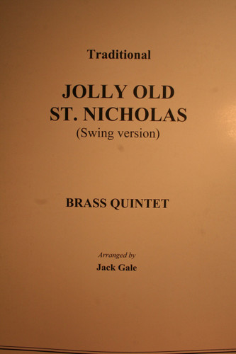 Trad. Christmas Traditional - Jolly Old. St Nicholas (Swing Version)