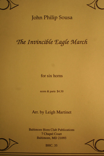 Sousa, J.P. - The Invincible Eagle March