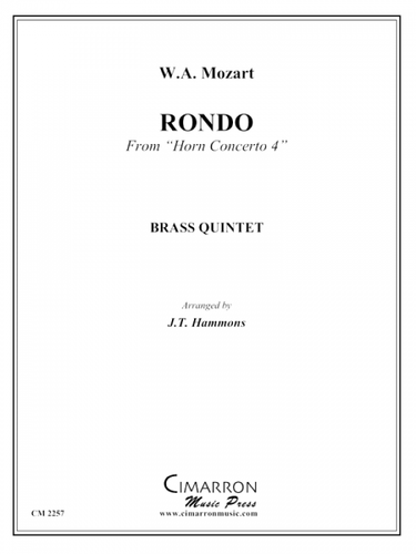 """Mozart - Rondo From """"Horn Concerto 4"""""""