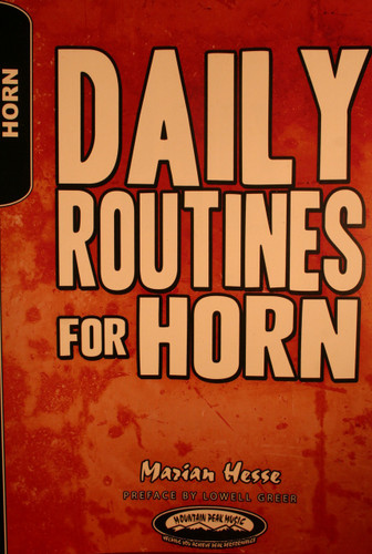 Hesse, Marian - Daily Routines For Horn