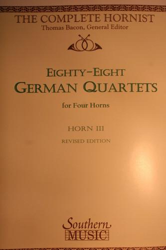 Bacon - German Quartets Hn3