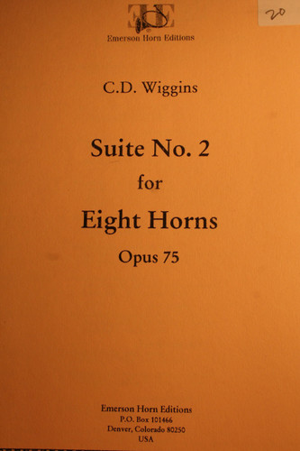 Wiggins, C.D. - Suite No. 2, Op. 75