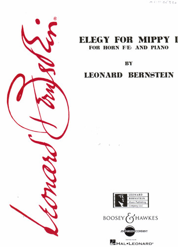 Bernstein, Leonard - Elegy For Mippy I