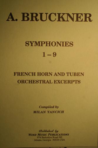 Bruckner, Anton - Symphonies 1-9