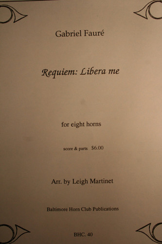 Faure, Gabriel - Requiem: Libera Me