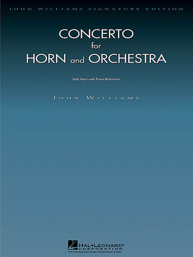 Williams, John - Concerto for Horn and Orchestra (Arranged for Horn and Piano (image 1)