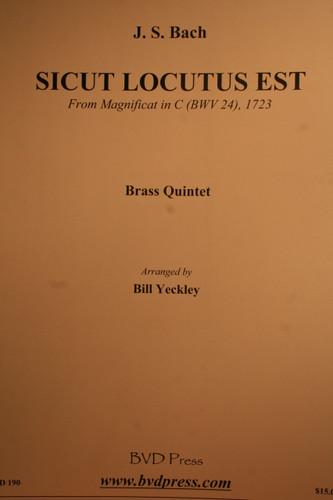 Bach, J.S. - Sicut Locutus Est, (BWV.24)