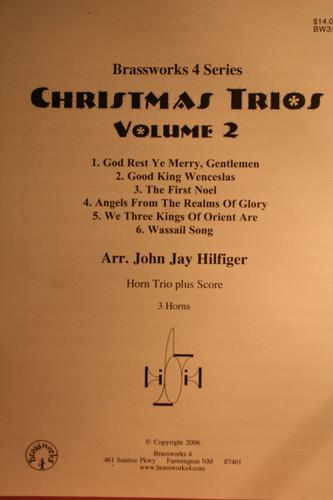 Traditional Christmas - Christmas Trios Vol. 2