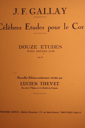 Gallay, J.F. - Celebres Etudes