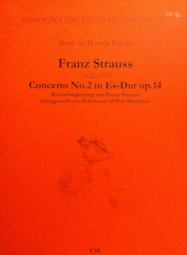 Strauss, Franz - Concerto No. 2 In E-flat Major (image 1)