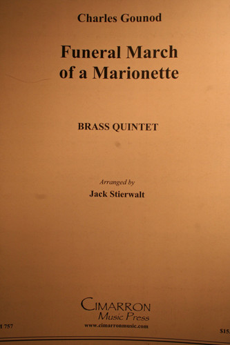 Gounod, Charles - Funeral March Of A Marionette (Brass Quintet)
