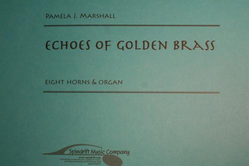 Marshall, Pamela J. - Echoes Of Golden Brass