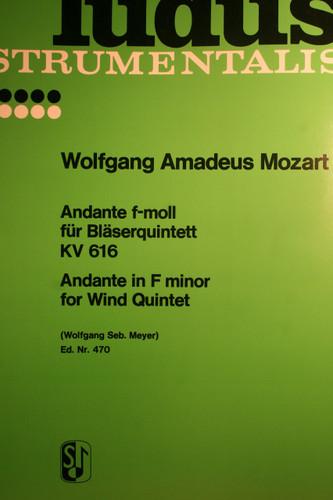 Mozart, W.A. - Andante In F Minor (KV.616)