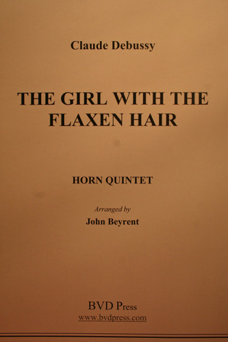 Debussy, Claude - The Girl With The Flaxen Hair