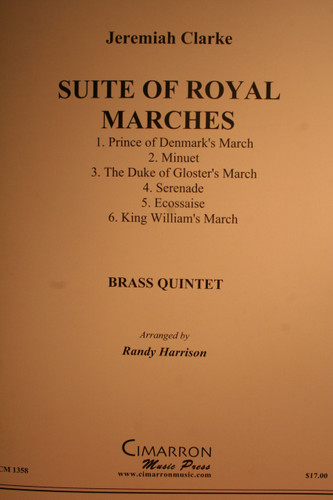 Clarke, Jeremiah - Suite Of Royal Marches