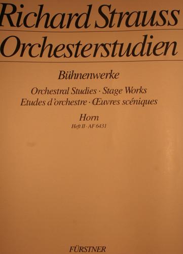 Strauss, Richard - Orchestral Studies, Vol. 2