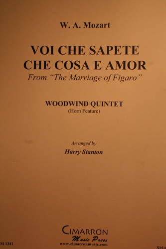 "Mozart, W.A. - Voi Che Sapete Che Cosa E Amor (From ""The Marriage Of Figaro"")"