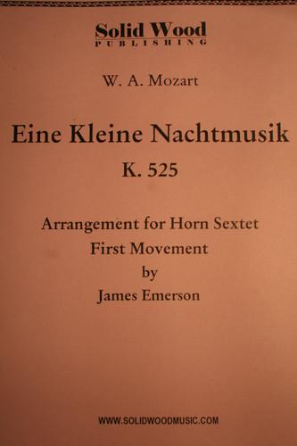 Mozart, W.A. - Eine Kleine Nachtmusik (K.525), First Movement