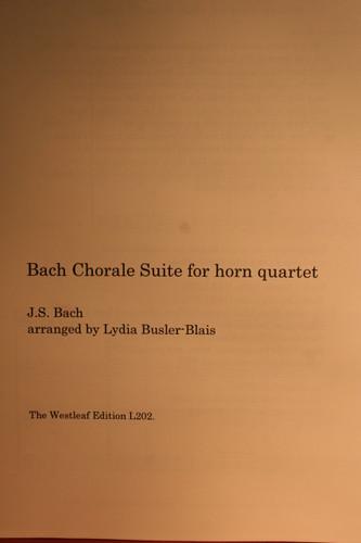 Bach - Chorale Suite