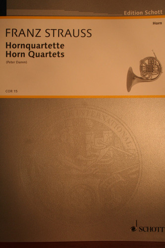 Strauss, Franz - Horn Quartets