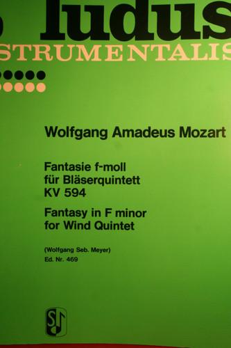 Mozart, W.A. - Fantasie In F Minor (KV.594)