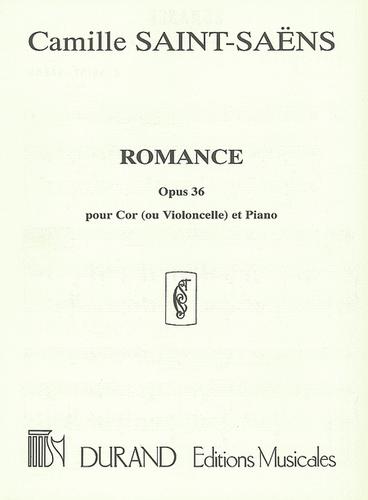 Saint-Saens, Camille - Romance, Opus 36 (image 1)