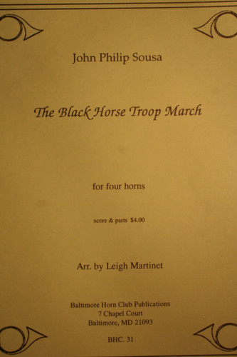 Sousa, John Philip - The Black Horse Troop March