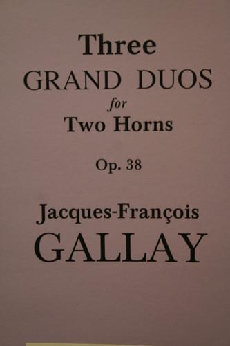 Gallay - 3 Grand Duos