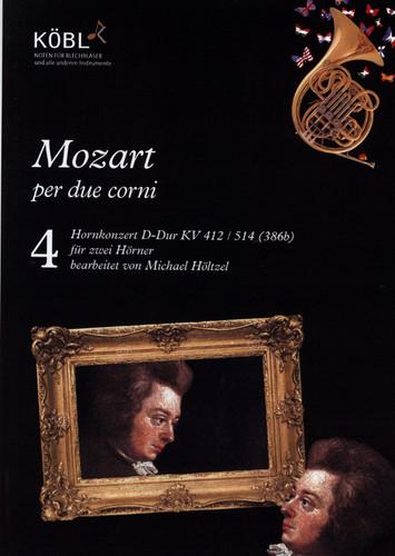 Mozart, W.A - Hornkonzert Es-Dur KV 412 / 514 (386b) for 2 Horns