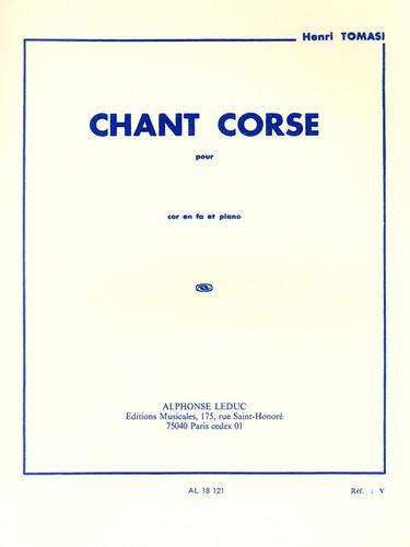 Tomasi, Henri - Chant Corse