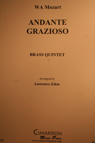 Mozart, W.A. - Andante Grazioso