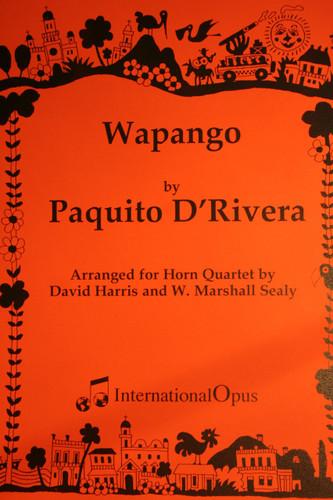 D'Rivera, Paquito - Wapango