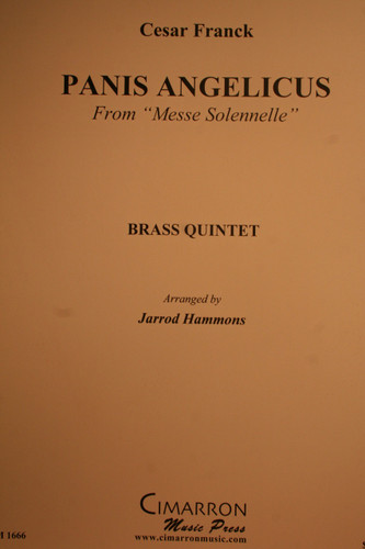 """Franck, Cesar - Panis Angelicus From """"Messe Solennelle"""""""