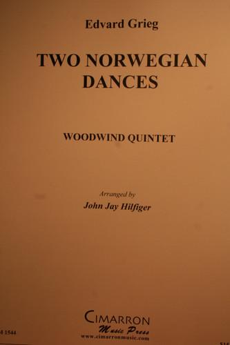 Grieg, Edvard - Two Norwegian Dances