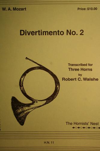 Mozart, W.A. - Divertimento No. 2