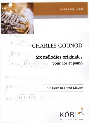 Gounod, Charles - 6 Melodies (image 1)