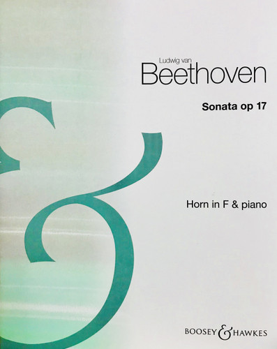 Beethoven, Ludwig - Sonata Opus 17 for Horn and Piano
