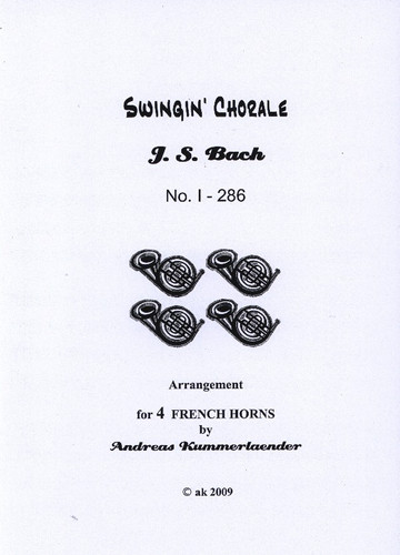 Bach, J.S. - Swinging Bach 1, Choral 286
